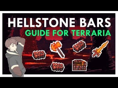 Terraria: Hellstone Bars Guide