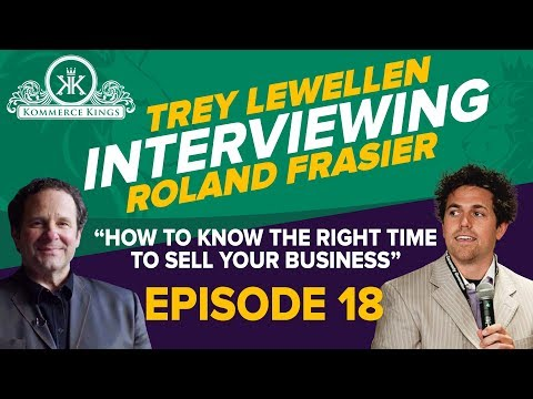 HOW TO KNOW THE RIGHT TIME TO SELL YOUR BUSINESS... Ep. 18
