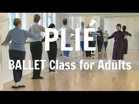 Ballet Class for Adult Beginners Basic Step Exercise (plié)