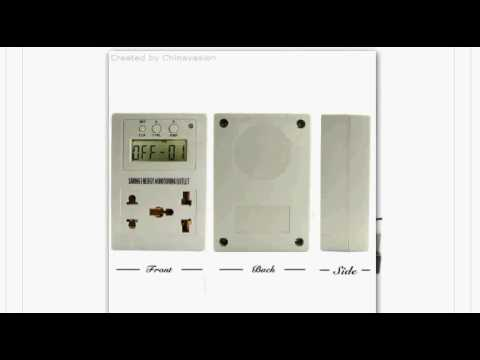 $ 12-US, Saving Energy Usage Monitor and Power Outlet Controller, 1st Shopping Channel