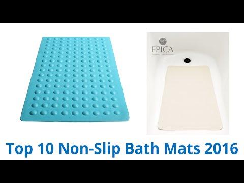 10 Best Non-Slip Bath Mats 2016