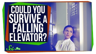 Could You Survive a Falling Elevator?