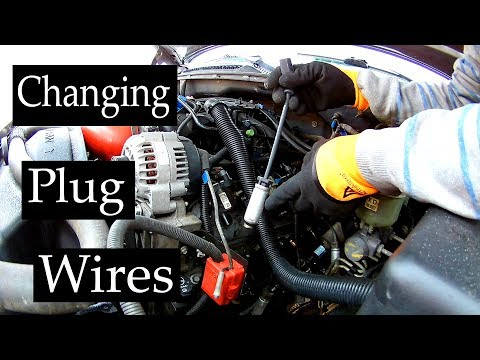 How to change Spark Plug Wires on Chevy Silverado