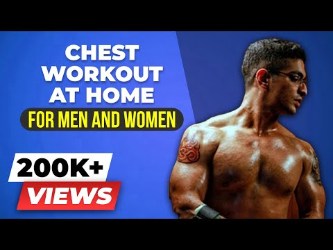 CHEST Workout for Men & Women | Beginners Chest Exercises without equipment | BeerBiceps
