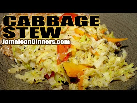 CABBAGE STEW WITH CARROTS: Short Film #VeganRecipe