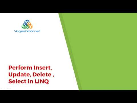 Lecture 3- Insert Update Delete Using LINQ in ASP.NET MVC in Hindi-Part 1