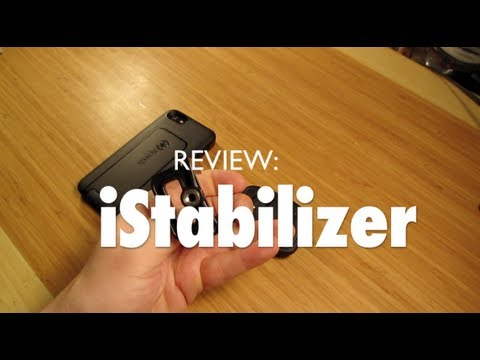 REVIEW iStabilizer Mount (Use Your iPhone With a Camera Tripod)