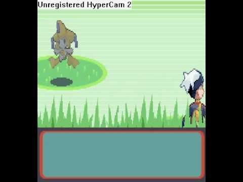 Pokemon Ruby Let's catch Jirachi