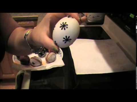 Easter Egg coloring using natural dye