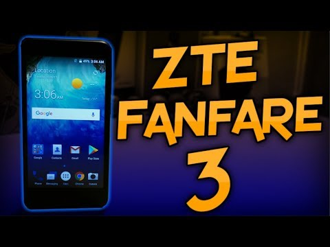 ZTE Fanfare 3 Unboxing & First Impressions