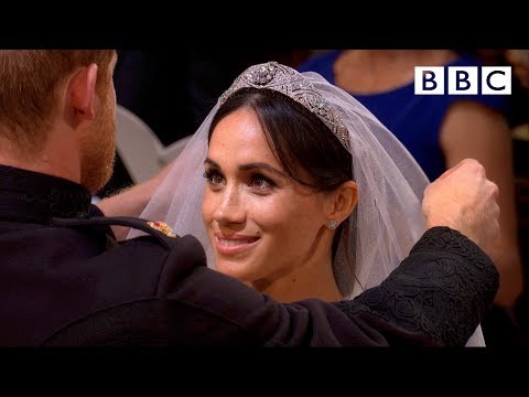 First hymn, first vows | Prince Harry and Meghan Markle - The Royal Wedding - BBC