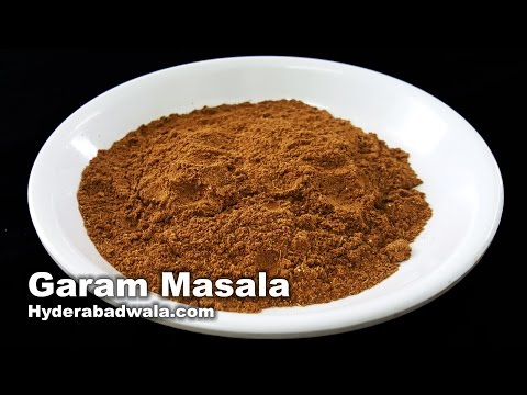 Garam Masala Recipe Video - How to Make Garam Masala Powder at Home - Easy, Quick & Simple