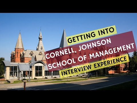 Cornell, Johnson MBA Admit | Application Strategy and Interview Experience