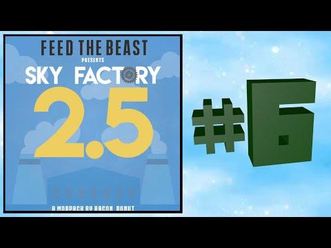 Sky Factory  2.5 #6: Auto Tree Farm! (Modded Minecraft)