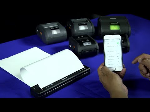 How to Print via WiFi to Airprint on Brother Mobile Printers