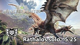 MHWorld Beta: Rathalos Charge Blade solo 5