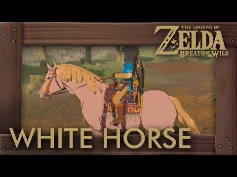 Zelda Breath of the Wild - White Horse Location (Zelda's Horse)