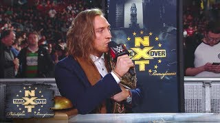 Pete Dunne calls out all challengers, even Brock Lesnar: NXT TakeOver: Philadelphia Pre-Show