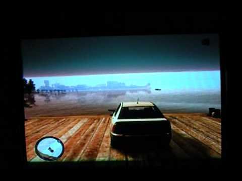 GTA IV Airport Ramp: Boat-Like Barge