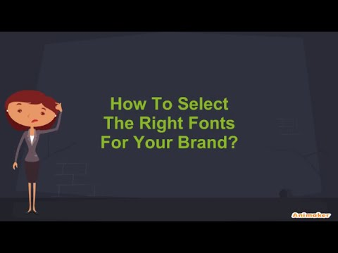 How to choose the right fonts for your brand