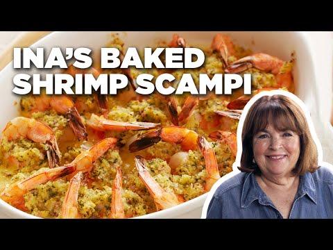 Ina's 5-Star Baked Shrimp Scampi | Food Network
