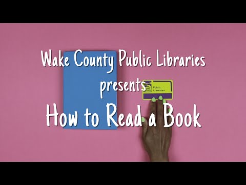 Library Card Sign-up Month: How to Read a Book