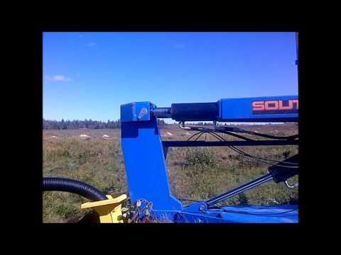 Southgate 3 point hitch tile plow