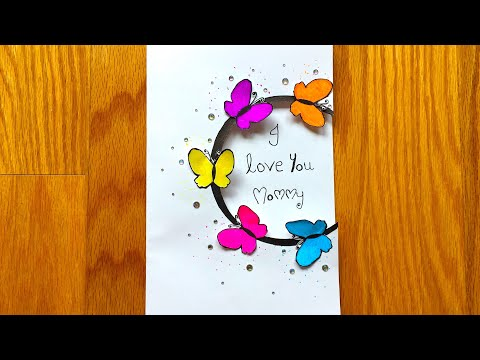 MOTHER'S DAY CARD   MOTHER'S DAY CRAFT   HOW TO MAKE A CARD