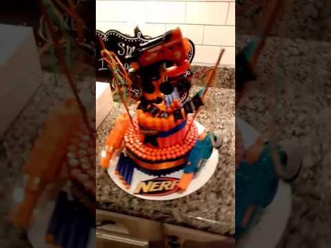 AWESOME NERF CAKE