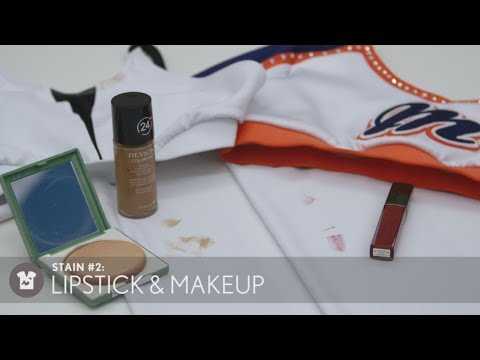 How to Remove Lip Stick & Makeup Stains