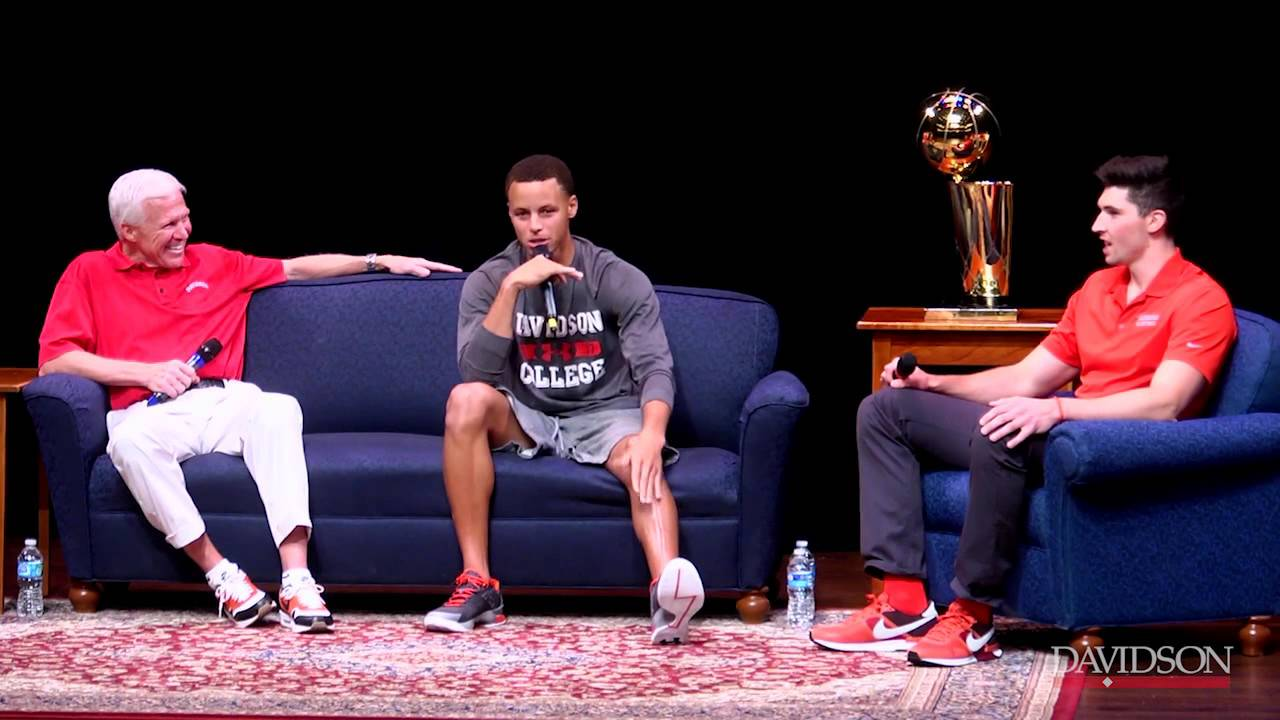 Q&A with Steph Curry and Coach Bob McKillop