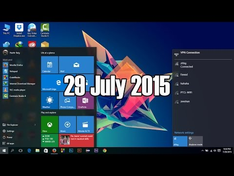 Windows 10 - Finally Upgraded - Have A Look at Review  - 29 July 2015
