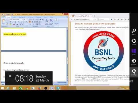 Static IP address in Windows 8 & 8.1 HD
