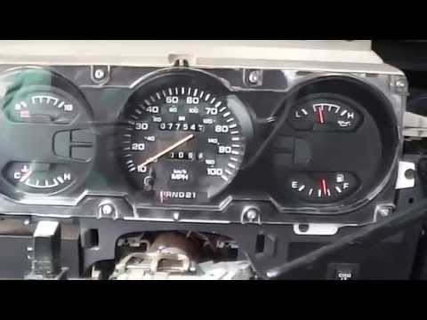 1992 Dodge Speedometer stopped working. How to test it