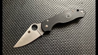 Download The Spyderco Para3 Lightweight Pocketknife: The Full Nick Shabazz Review Video