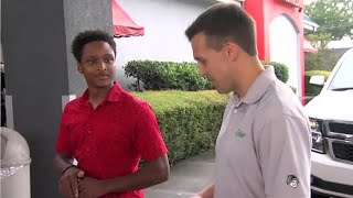 Man walks over a dozen miles to first day of work, CEO gifts him car as thanks