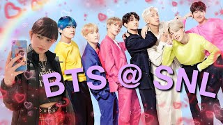 Download I SAW BTS @ SNL | vlog + quick boy with luv reaction 191304 Video