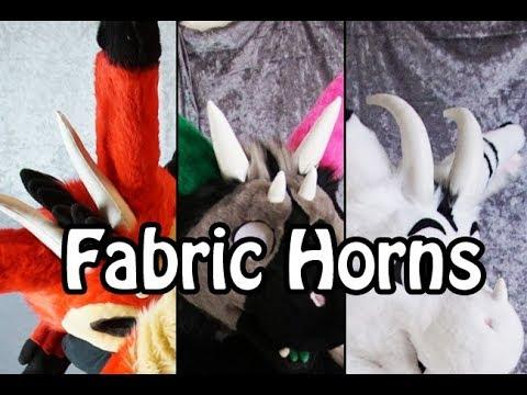 //Tutorial #19// Fabric Horns