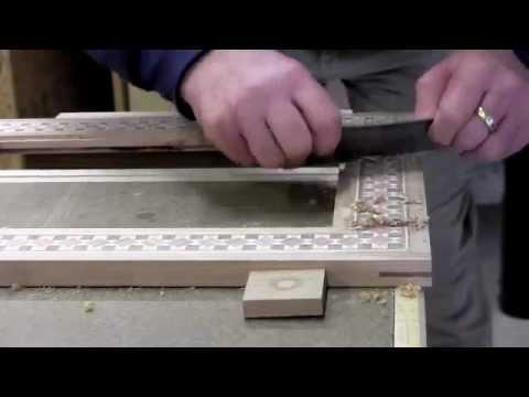 Card Scraper for Wood Inlay