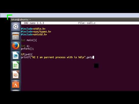 system programming getpid-and-getppid system-calls-using linux-ubuntu