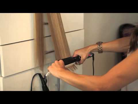How to Straighten Extensions : Hair Extensions
