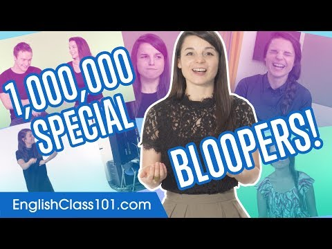 1 Million Subscribers EnglishClass101 Bloopers