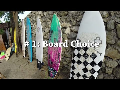 The Giant How To Surf Guide - Choosing a Surfboard