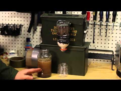 DIY Survival Water Filter (charcoal base)