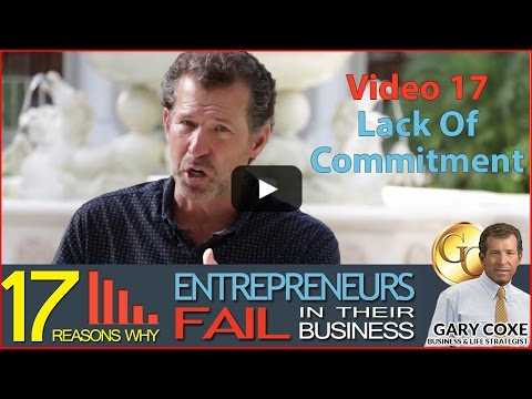 Video 17 of 17 - Lack of Commitment - Gary Coxe # 1643