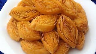 حلويات رمضان: قريوش هشيش(كرواش) بطريقة ناجحة وبشكل رائع