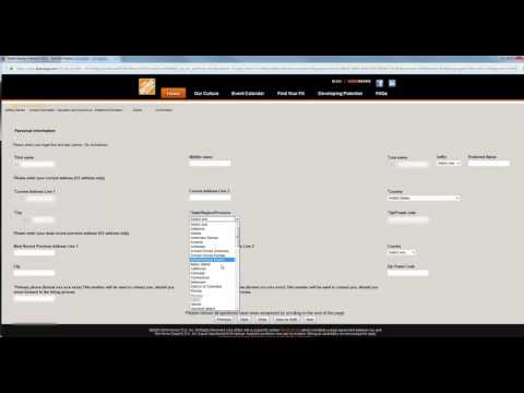 Home Depot Job Application Online Process