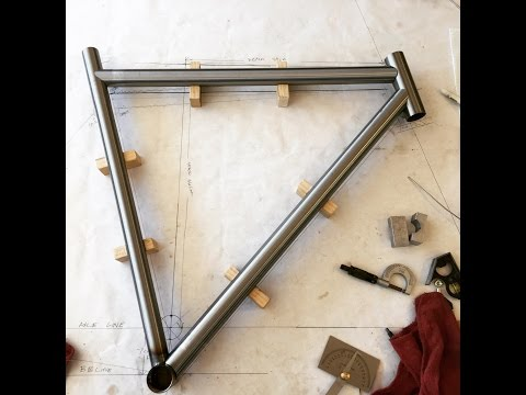 Bicycle frame build part 5 - Bike Frame Building Equipment
