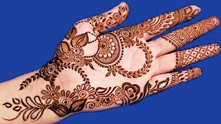 Awesome Mehndi Design for Hands | New Arabic Henna Mehndi Design for Hands #173 @ jaipurthepinkcity