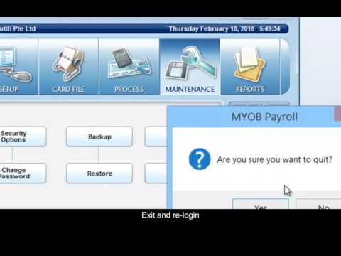 How to edit Payroll Archive